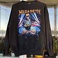 Megadeth - TShirt or Longsleeve - Megadeth 1990 tour sweatshirt