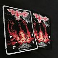 "Deathhammer ""Evil Power"" Woven Patch"