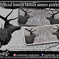 Agalloch - Patch - Agalloch The Mantle Patch