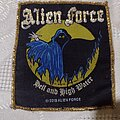 Alien Force - Patch - Alien Force - Hell and High Water