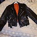 Vintage Leather Jacket - Battle Jacket - everyday jacket