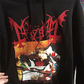Mayhem - Hooded Top / Sweater - Mayhem - Dawn of the black hearts Hoodie