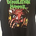 Demolition Hammer - TShirt or Longsleeve - DEMOLITION HAMMER European tour 1990 ts