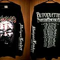 TShirt or Longsleeve - Disavowed LS - Perceptive Deception Bloodletting NorthAmerica Tour