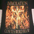 Immolation - Close To A World Below Shirt