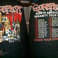 TShirt or Longsleeve - Gorefest - North American Insanity Tour 93