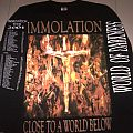TShirt or Longsleeve - Immolation - Close To A World Below World Of Darkness Tour 2001