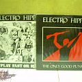 electro hippies,extreme noise terror/chaos uk split lp,prophecy of doom