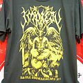 Impiety'asian tour 2011'ltd gold printing TShirt or Longsleeve