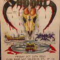 Sabbat SF poster Other Collectable