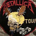Metallica - Patch - Metallica Damage Inc patch from 1987