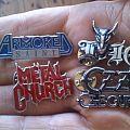 Vintage metal pins