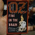 "Oz ""Fire in the Brain"" boot patch"