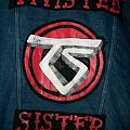 Twisted Sister - Battle Jacket - Twisted Sister Battle Jacket signed by Aj Pero