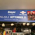 Slayer - Other Collectable - Slayer Repentless Promo poster from F.Y.E.
