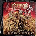 Kreator - Other Collectable - Signed Kreator Phantom Antichrist Album