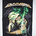 Gamma Ray Absinth Backpatch + hand signed