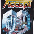 Accept Metal Heart Backpatch