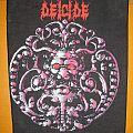 """DEICIDE """"Deicide"""" original backpatch"""