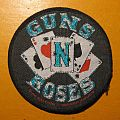 "GUNS N' ROSES ""playing cards"" original patch"