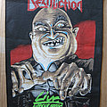 DESTRUCTION Live Without Sense original backpatch (1988)