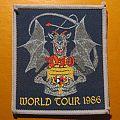 "DIO ""World Tour 1986"" (grey border) patch"