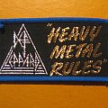 "DEF LEPPARD ""Heavy Metal Rules"" patch"