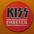 "KISS ""Forever"" round patch"