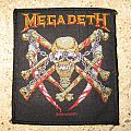 """MEGADETH """"Killing Is My Business... and Business Is Good!"""" alt' cover official woven patch"""