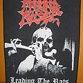 Morbid Angel - Patch - MORBID ANGEL Leading The Rats original backpatch