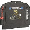 SEPULTURA Ratamahatta vintage long sleeve shirt