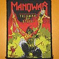 "ONLY FOR REVIEW!!! MANOWAR ""Triumph Of Steel"" original woven patch"