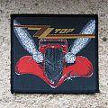 ZZ TOP Eliminator original woven patch
