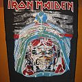 "IRON MAIDEN ""Aces High"" vintage backpatch"