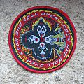 KISS Rock And Roll Over original woven patch (red border)