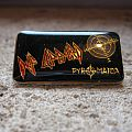 DEF LEPPARD Pyromania vintage enameled pin Pin / Badge