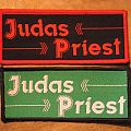 Judas Priest - Patch - JUDAS PRIEST name and arrows vintage woven patches