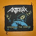 ANTHRAX Spreading The Disease original woven patch