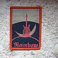 RAINBOW Ritchie Blackmore's Rainbow vintage rubber-printed patch