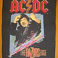 "AC/DC ""The Razors Edge"" backpatch"