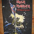 IRON MAIDEN The Beast On The Road original backpatch