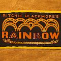 RAINBOW Ritchie Blackmore's Rainbow vintage woven patch