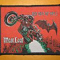 """Meat Loaf - Patch - MEAT LOAF """"Bat Out Of Hell - cover"""" original woven patch"""