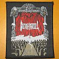 "DEATH ANGEL ""Act III"" original woven patch"