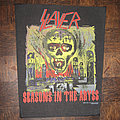 Slayer - Patch - SLAYER Seasons In The Abyss original backpatch