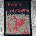 BLACK SABBATH Henry vintage rubber-printed patch