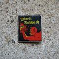 BLACK SABBATH devil vintage badge Pin / Badge