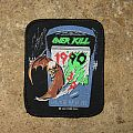 OVERKILL Dawn Of The Decade original printed patch