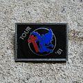BLACK SABBATH Tour '81 vintage badge Pin / Badge