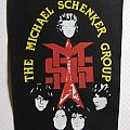 Michael Schenker Group - Patch - The Michael Schenker Group MSG vintage backpatch
